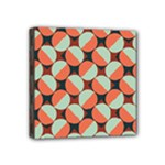 Modernist Geometric Tiles Mini Canvas 4  x 4