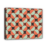 Modernist Geometric Tiles Canvas 10  x 8