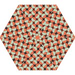 Modernist Geometric Tiles Mini Folding Umbrellas