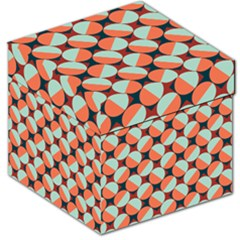 Modernist Geometric Tiles Storage Stool 12   by DanaeStudio