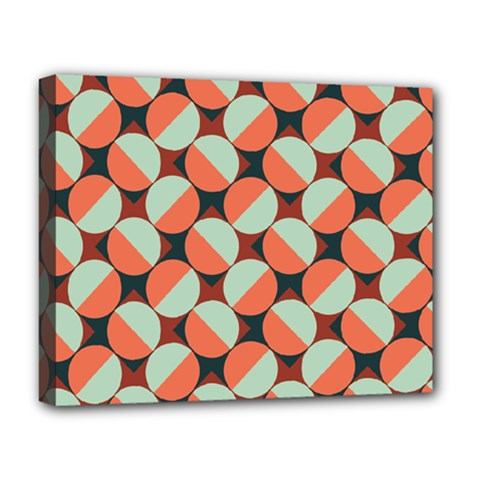 Modernist Geometric Tiles Deluxe Canvas 20  X 16   by DanaeStudio