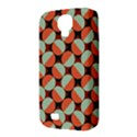 Modernist Geometric Tiles Samsung Galaxy S4 Classic Hardshell Case (PC+Silicone) View3