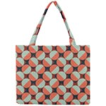 Modernist Geometric Tiles Mini Tote Bag