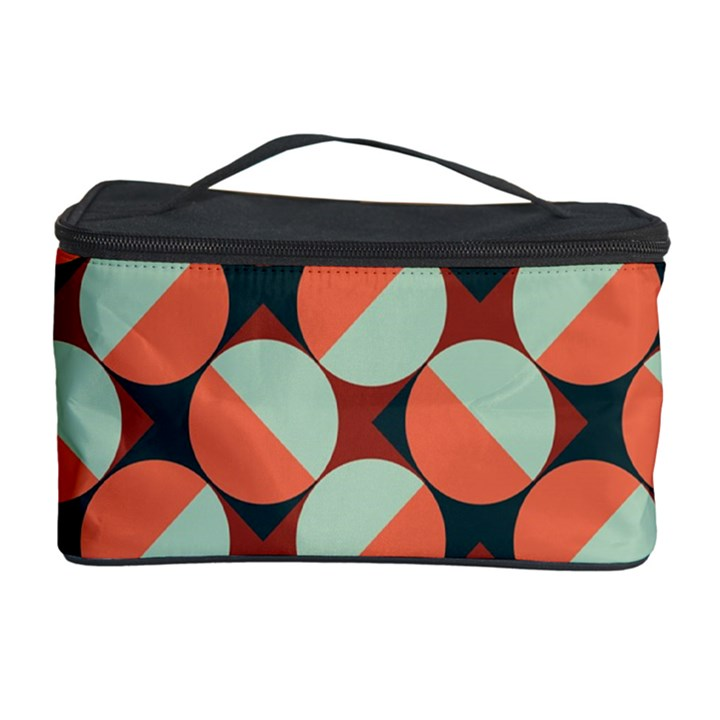 Modernist Geometric Tiles Cosmetic Storage Case
