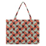 Modernist Geometric Tiles Medium Tote Bag