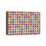 Modernist Floral Tiles Mini Canvas 6  x 4