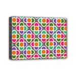 Modernist Floral Tiles Mini Canvas 7  x 5
