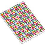 Modernist Floral Tiles Large Memo Pads