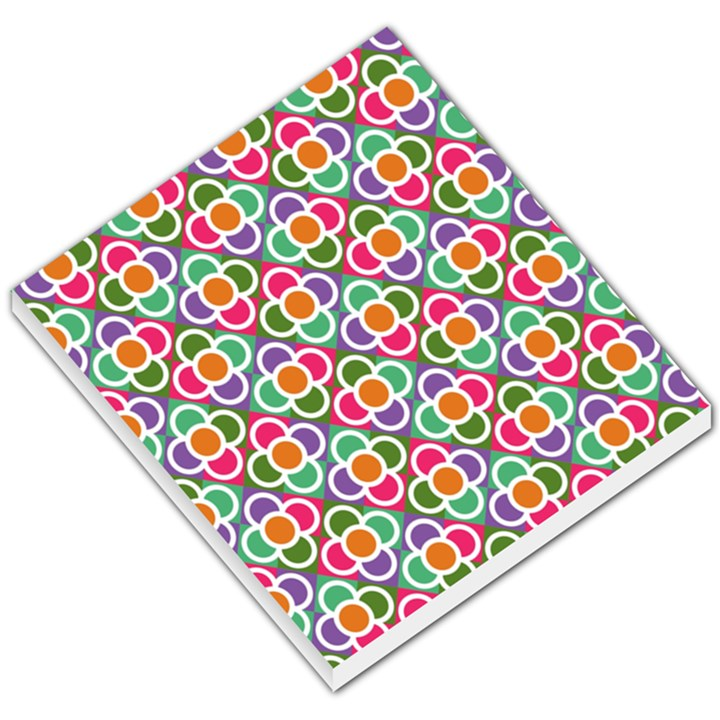 Modernist Floral Tiles Small Memo Pads