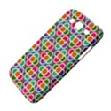 Modernist Floral Tiles Samsung Galaxy Mega 5.8 I9152 Hardshell Case  View4