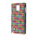 Modernist Floral Tiles Samsung Galaxy Note 4 Hardshell Case View2