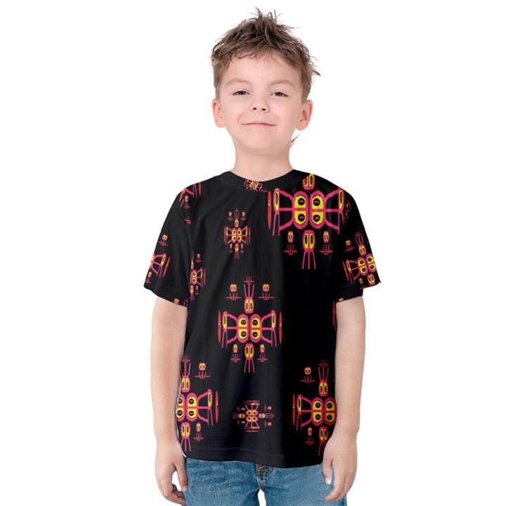 Alphabet Shirtjhjervbretili Kids  Cotton Tee