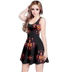 Alphabet Shirtjhjervbretili Reversible Sleeveless Dress