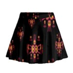 Alphabet Shirtjhjervbretili Mini Flare Skirt