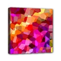 Geometric Fall Pattern Mini Canvas 6  x 6  View1