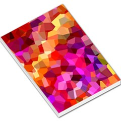 Geometric Fall Pattern Large Memo Pads by DanaeStudio