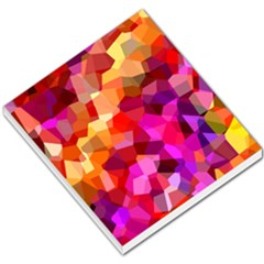 Geometric Fall Pattern Small Memo Pads by DanaeStudio