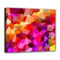 Geometric Fall Pattern Deluxe Canvas 24  x 20   View1