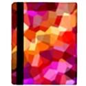 Geometric Fall Pattern Apple iPad Mini Flip Case View3
