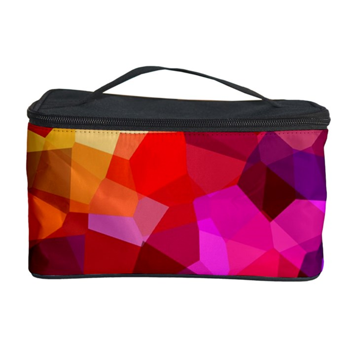 Geometric Fall Pattern Cosmetic Storage Case