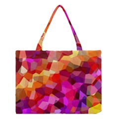Geometric Fall Pattern Medium Tote Bag by DanaeStudio