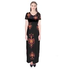 Alphabet Shirtjhjervbretilihhj Short Sleeve Maxi Dress by MRTACPANS