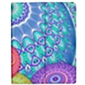 India Ornaments Mandala Balls Multicolored Apple iPad 2 Flip Case View1