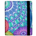 India Ornaments Mandala Balls Multicolored Apple iPad 3/4 Flip Case View2