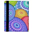 India Ornaments Mandala Balls Multicolored Apple iPad 3/4 Flip Case View3