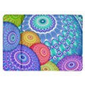India Ornaments Mandala Balls Multicolored Samsung Galaxy Tab 10.1  P7500 Flip Case View1