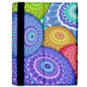 India Ornaments Mandala Balls Multicolored Samsung Galaxy Tab 10.1  P7500 Flip Case View2