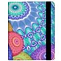 India Ornaments Mandala Balls Multicolored Samsung Galaxy Tab 8.9  P7300 Flip Case View2