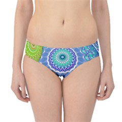 India Ornaments Mandala Balls Multicolored Hipster Bikini Bottoms