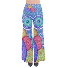 India Ornaments Mandala Balls Multicolored Pants by EDDArt