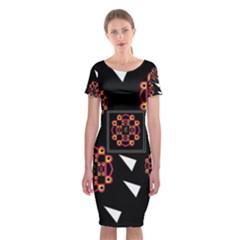 Win 20161004 23 30 49 Proyiyuikdgdgscnhggpikhhmmgbfbkkppkhouj Classic Short Sleeve Midi Dress
