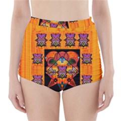Clothing (20)6k,kk  O High-Waisted Bikini Bottoms