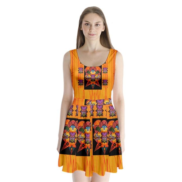 Clothing (20)6k,kk  O Split Back Mini Dress