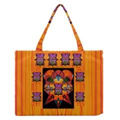 Clothing (20)6k,kk  O Medium Zipper Tote Bag by MRTACPANS