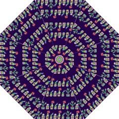 Cute Cactus Blossom Folding Umbrellas by DanaeStudio