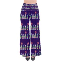 Cute Cactus Blossom Women s Chic Palazzo Pants by DanaeStudio