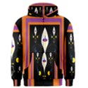 Flower F D L Men s Zipper Hoodie View1