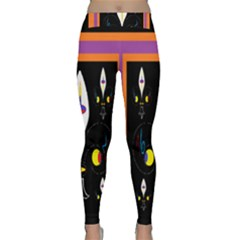 Flower F D L Yoga Leggings