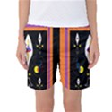 Flower F D L Women s Basketball Shorts View1