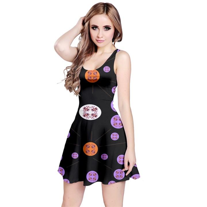Alphabet Shirtjhjervbret (2)fvgbgnhll Reversible Sleeveless Dress