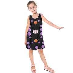 Alphabet Shirtjhjervbret (2)fvgbgnhll Kids  Sleeveless Dress
