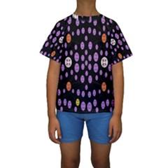 Alphabet Shirtjhjervbret (2)fvgbgnhllhn Kids  Short Sleeve Swimwear by MRTACPANS