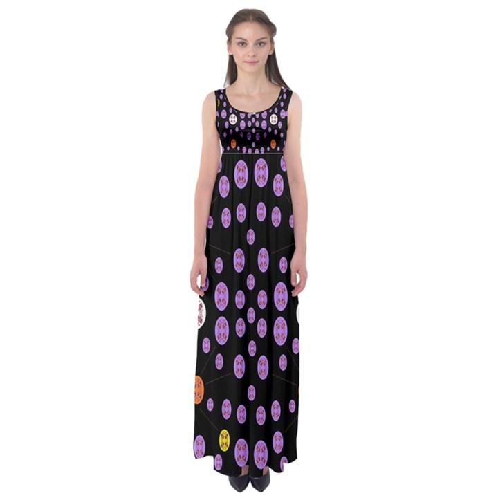 Alphabet Shirtjhjervbret (2)fvgbgnhllhn Empire Waist Maxi Dress