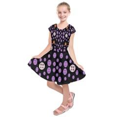 Alphabet Shirtjhjervbret (2)fvgbgnhllhn Kids  Short Sleeve Dress