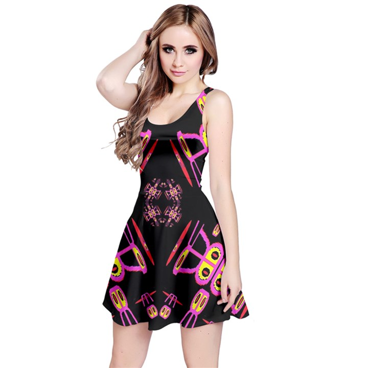Alphabet Shirtjhjervbret (2)fv Reversible Sleeveless Dress
