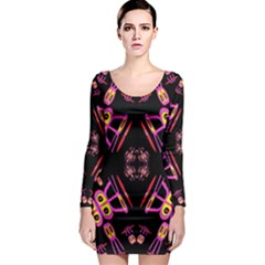 Alphabet Shirtjhjervbret (2)fv Long Sleeve Bodycon Dress